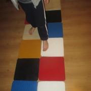 Ścieżka sensoryczna (kwadrat)
